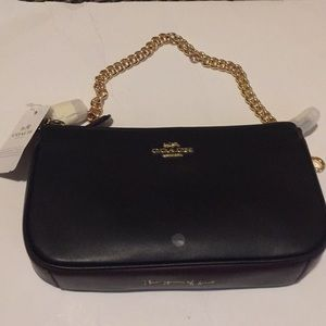 Coach x Selena Gomez Leather Wristlet Limited NWT